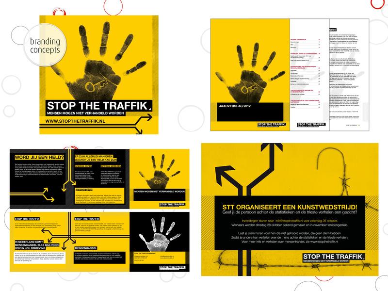 Ontpopt Creatief Buro - Branding concept, grafisch ontwerp en illustratie