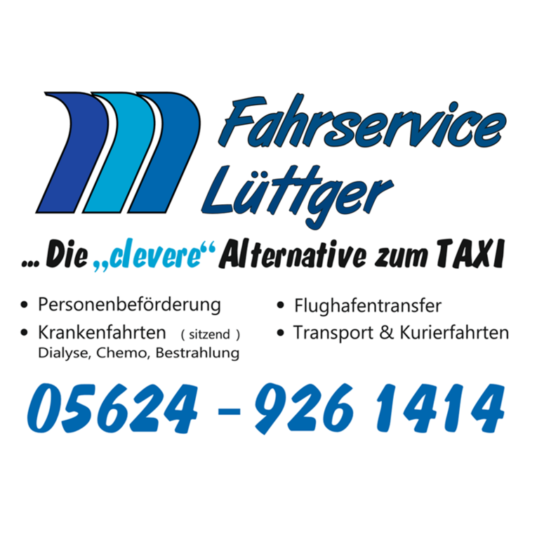 Logo von Fahrservice Lüttger