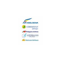 Philippine Airlines - Uzbekistan Airways - Air Moldova - Azerbaijan Airlines