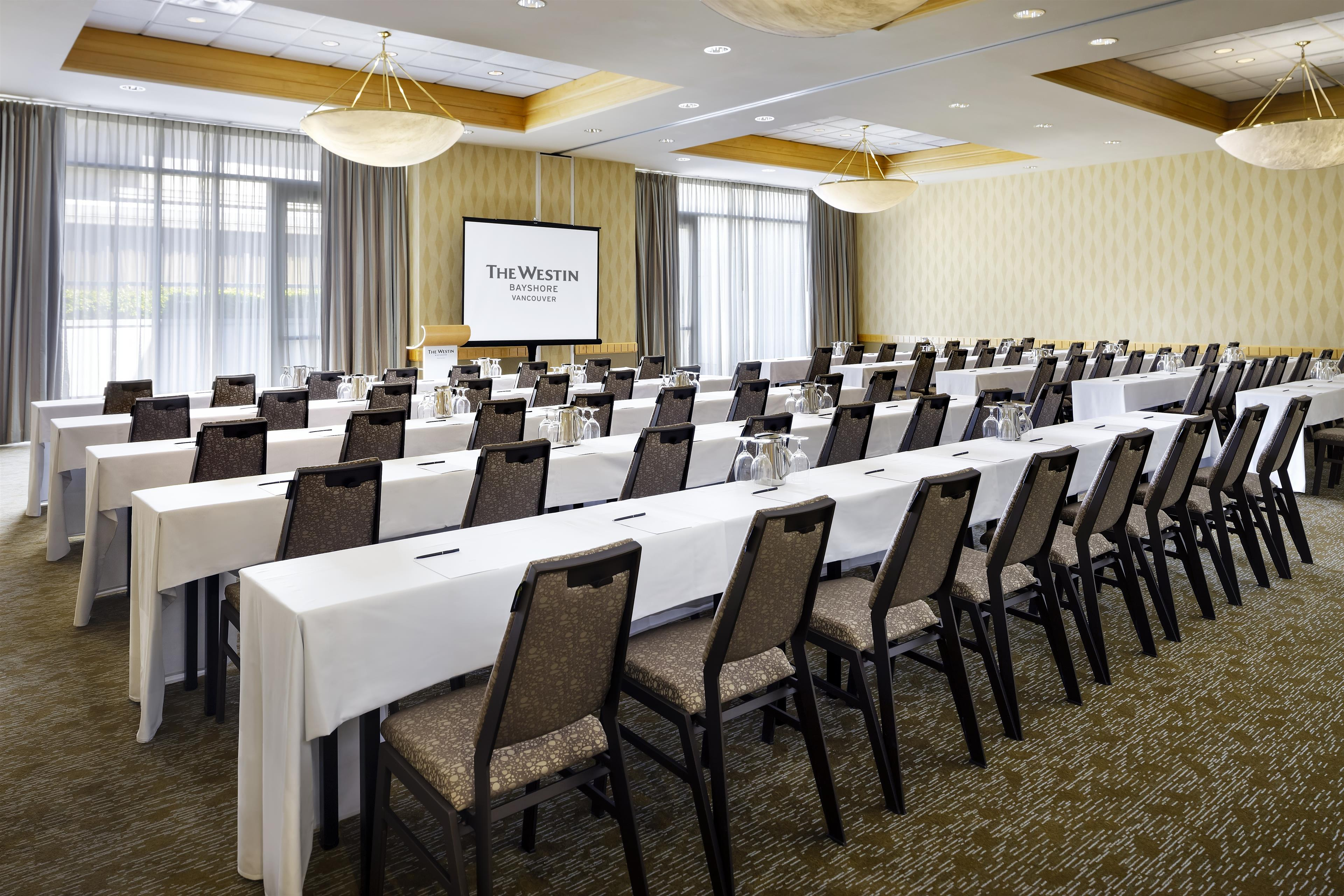 The Westin Bayshore, Vancouver in Vancouver: Cypress Classroom