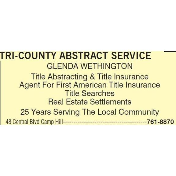 Tri-County Abstract Service
