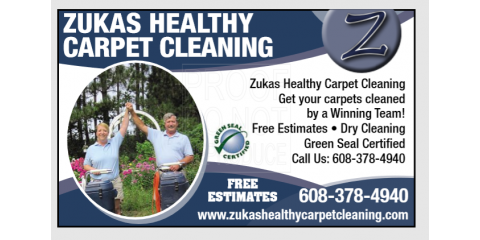 Zukas Healthy Carpet Cleaning image 0