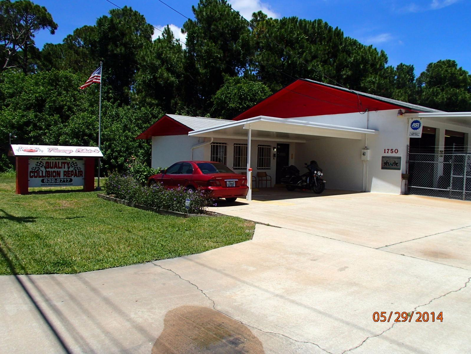 Tommy Blair 39 S Quality Collision Repair In Rockledge Fl