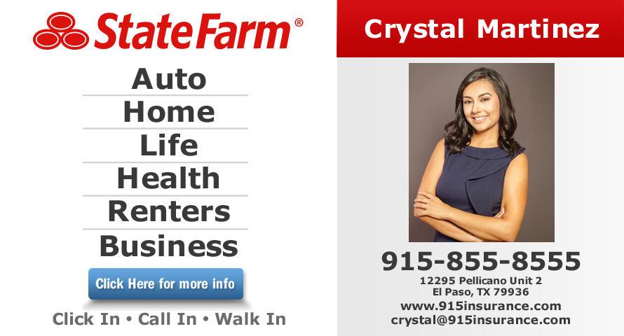 Crystal Martinez - State Farm Insurance Agent image 0
