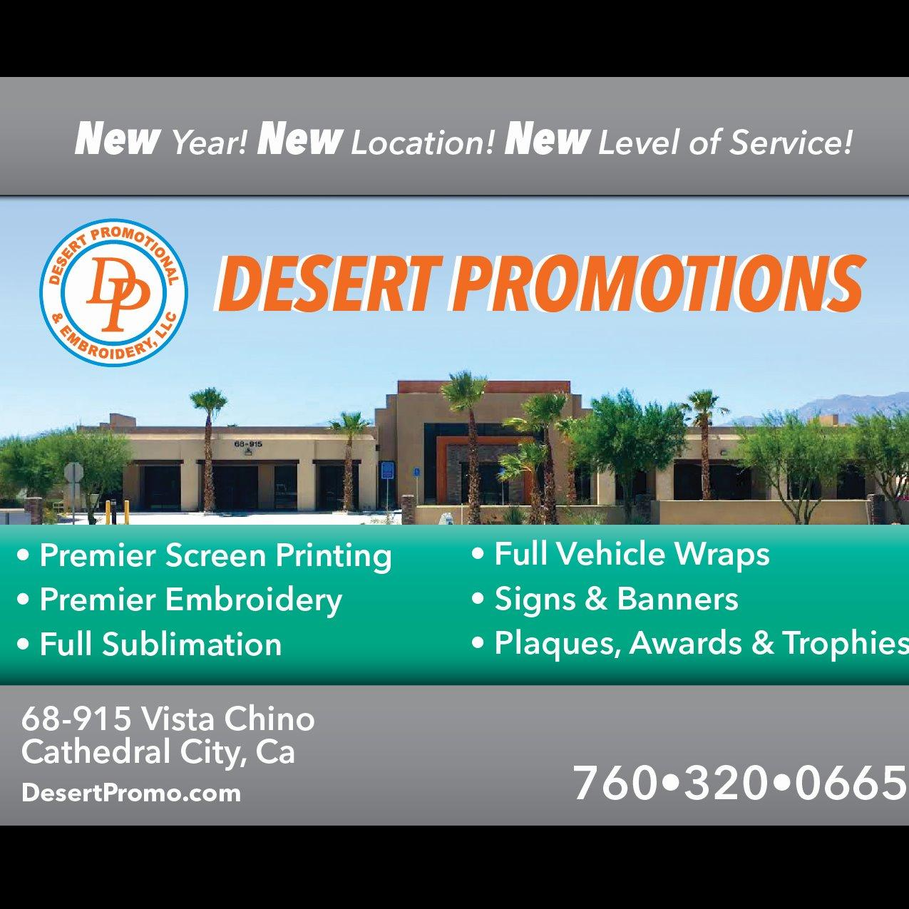 Desert promotional cathedral city ca business directory for California company directory