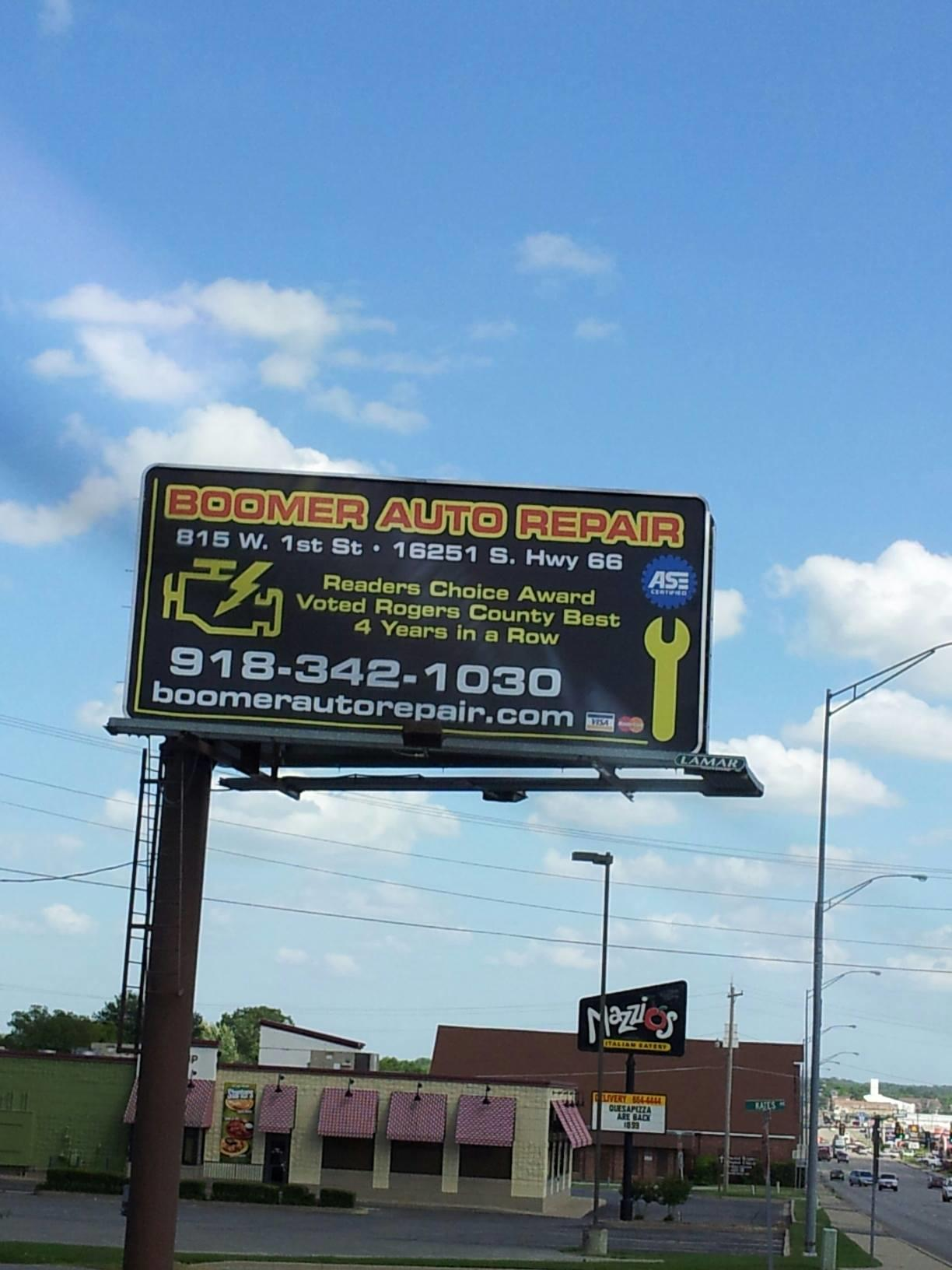 Boomer Auto Repair, LLC