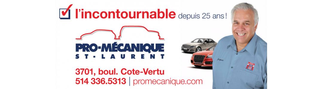 Pro Mécanique St-Laurent