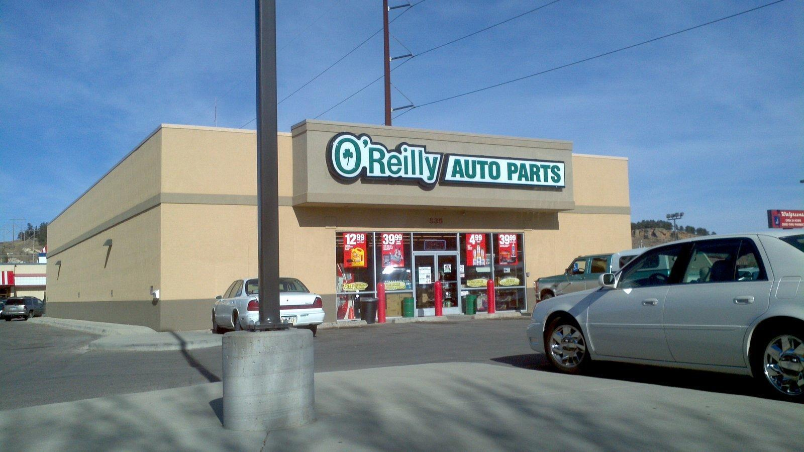 o 39 reilly auto parts in rapid city sd 605 341 7