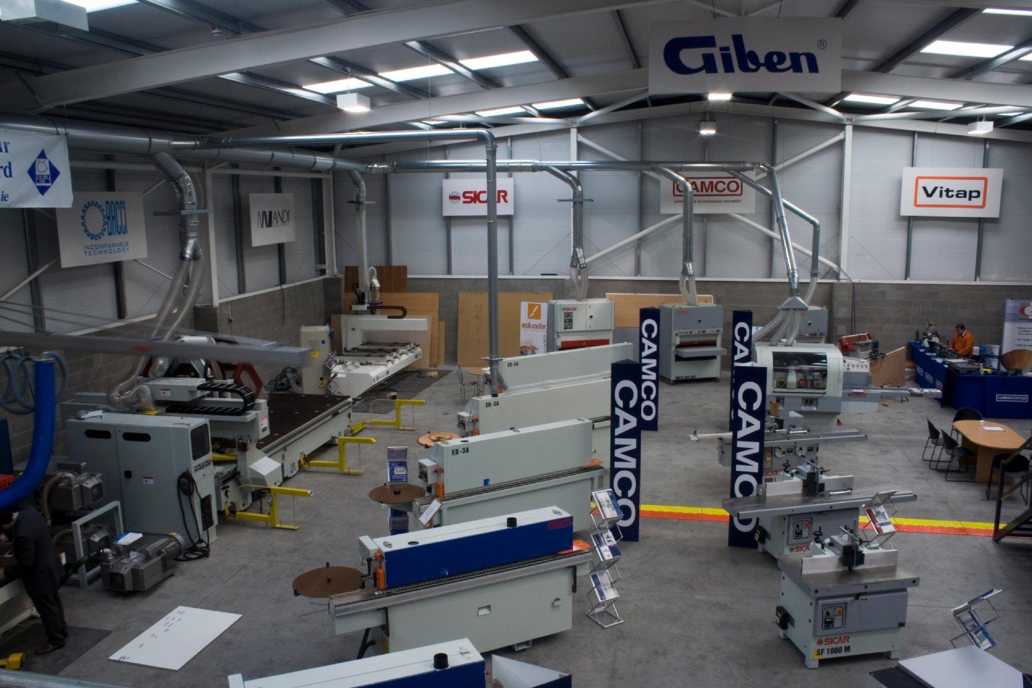 Camco UK Ltd, Crumlin – Woodworking Machinery Lisburn
