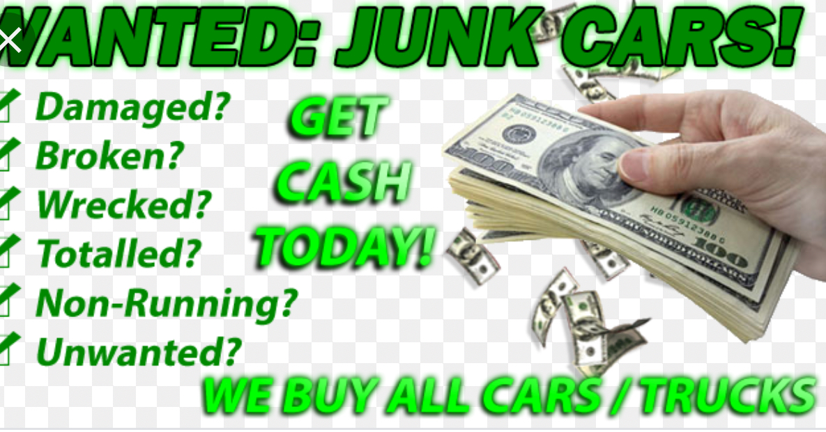 We buy Junk Cars or  Any Condition . image 2