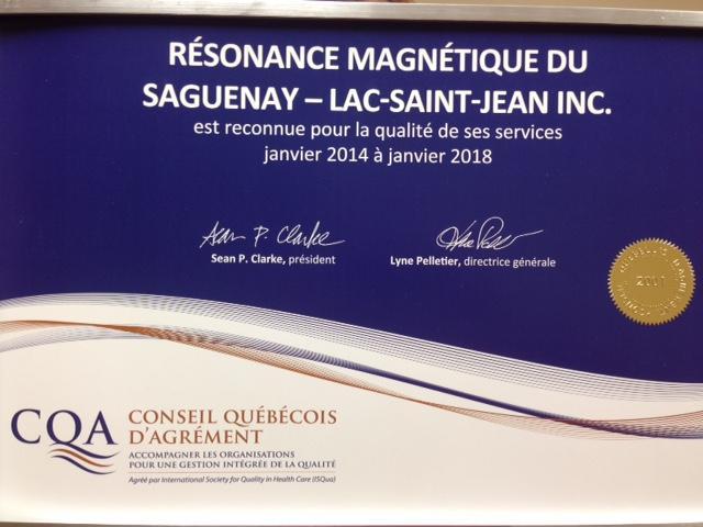 Resonance Magnétique Du Saguenay Lac St-Jean à Chicoutimi
