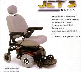 Orthopro à Victoriaville: Fauteuil roulant électrique