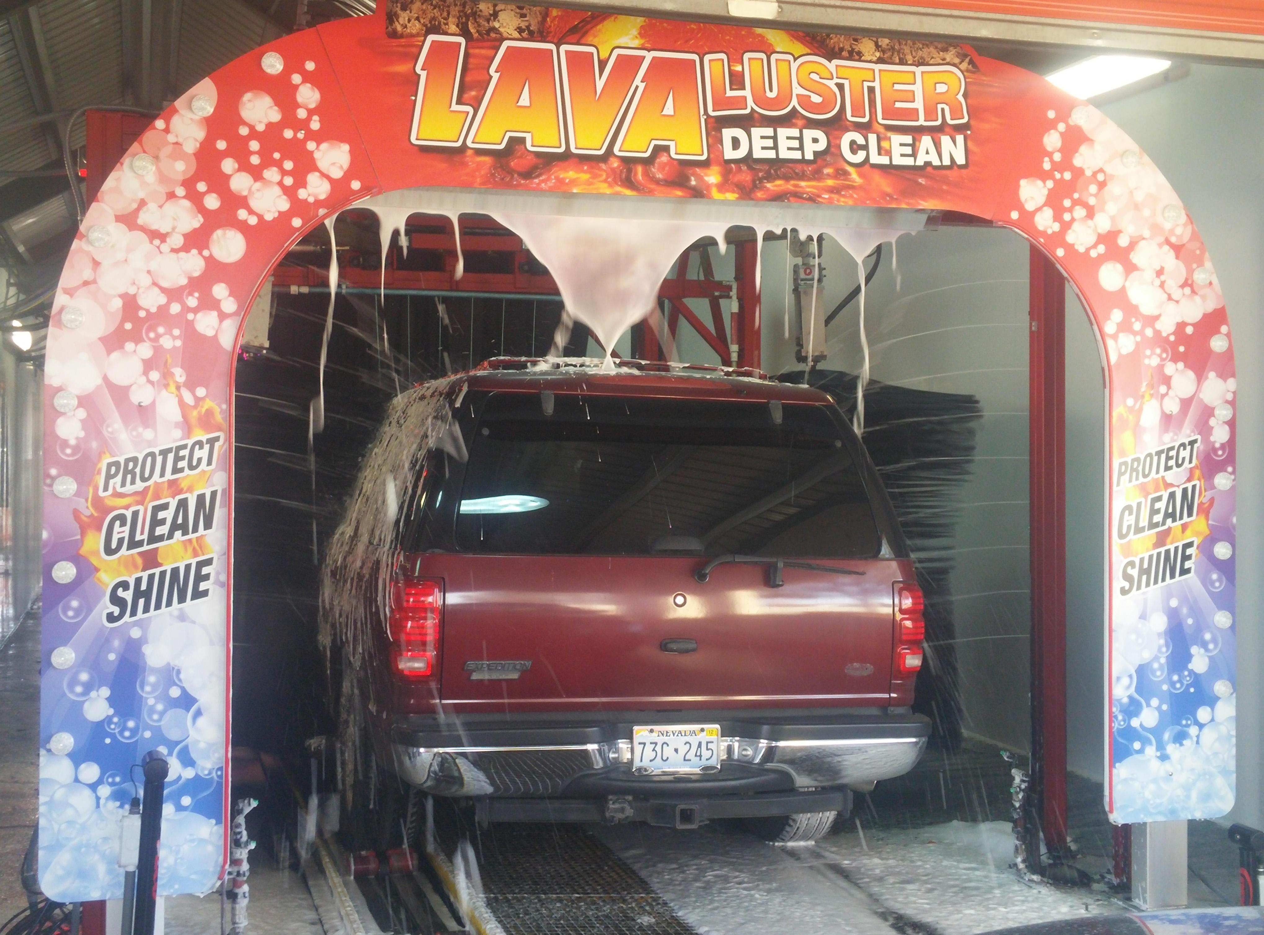 Upper Image Car Wash - W. CHARLESTON NV
