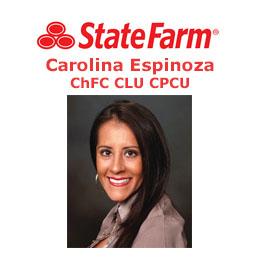 Carolina Espinoza - State Farm Insurance Agent