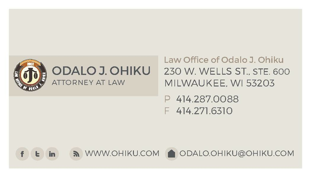 Law Office of Odalo J. Ohiku image 0