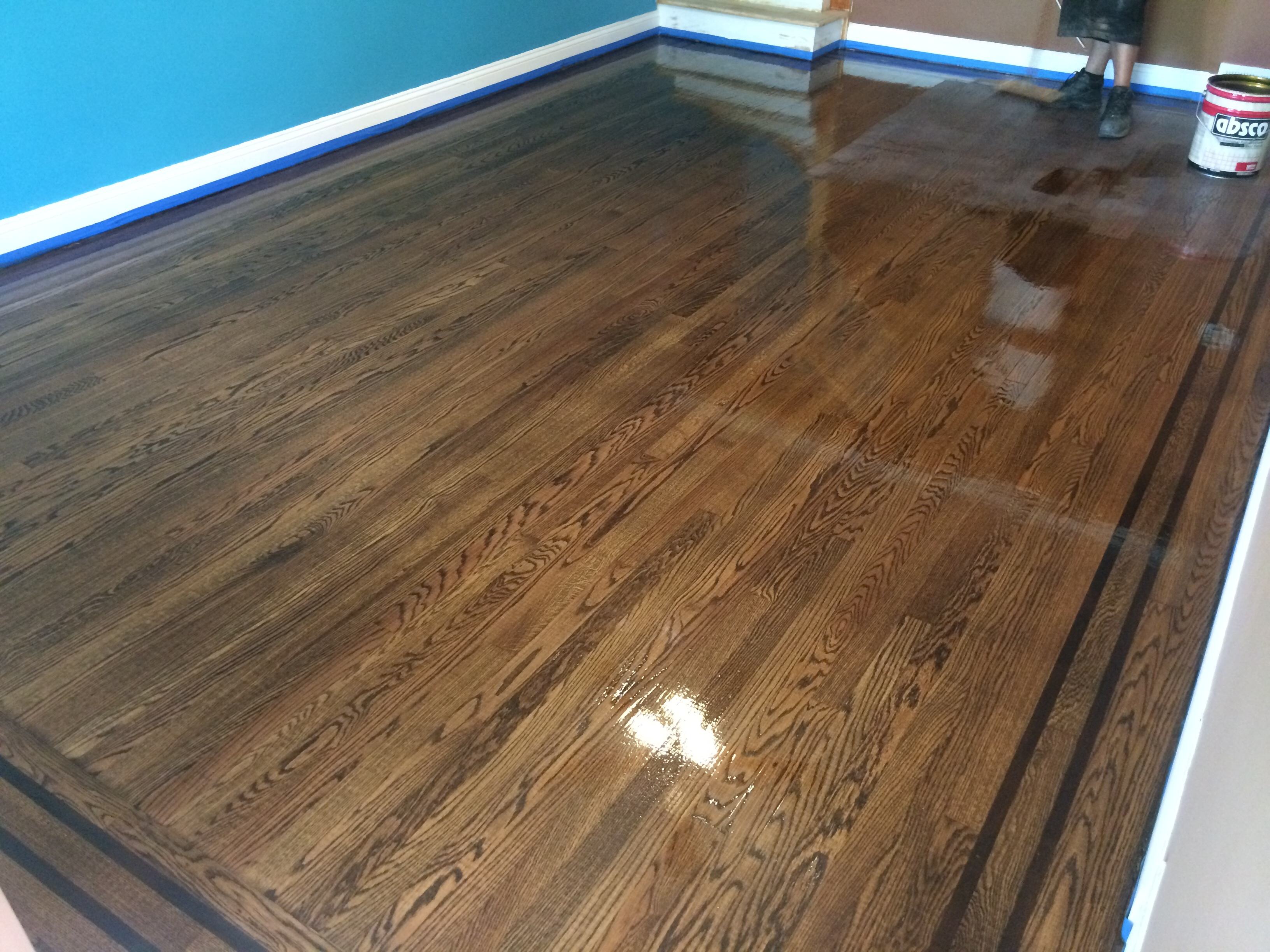 Franks floors and refinishing