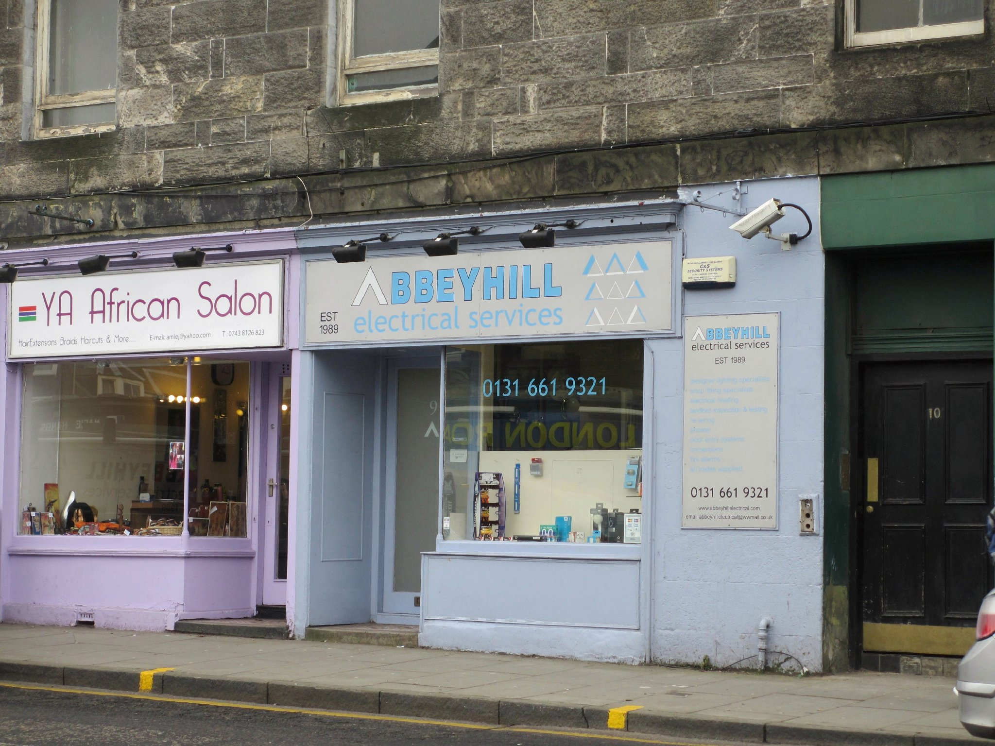Abbeyhill Electrical Services In Edinburgh Midlothian Eh7