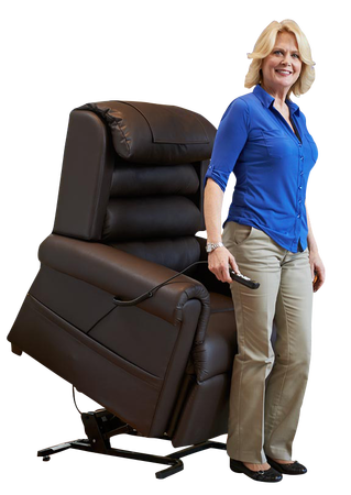 http://www.sosmobility.com lift chair recliners by Pride seat leather-like liftchairs and golden 2-motor infinite position zero gravity reclining lift chairs