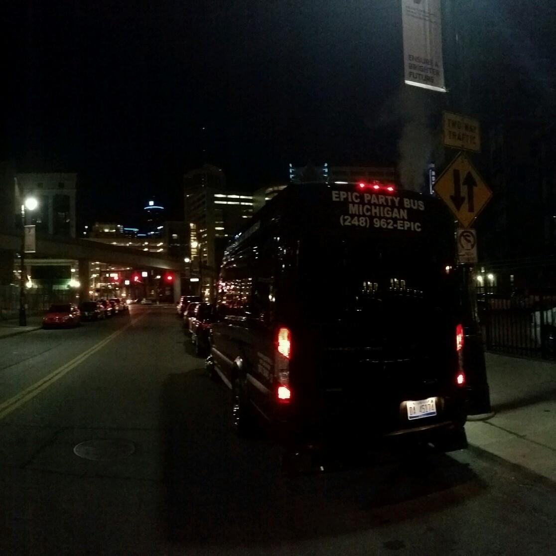 Epic Party Bus Michigan