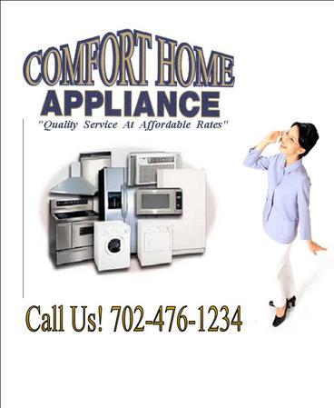 Comfort Home Appliance Las Vegas Nv All 187 Topix