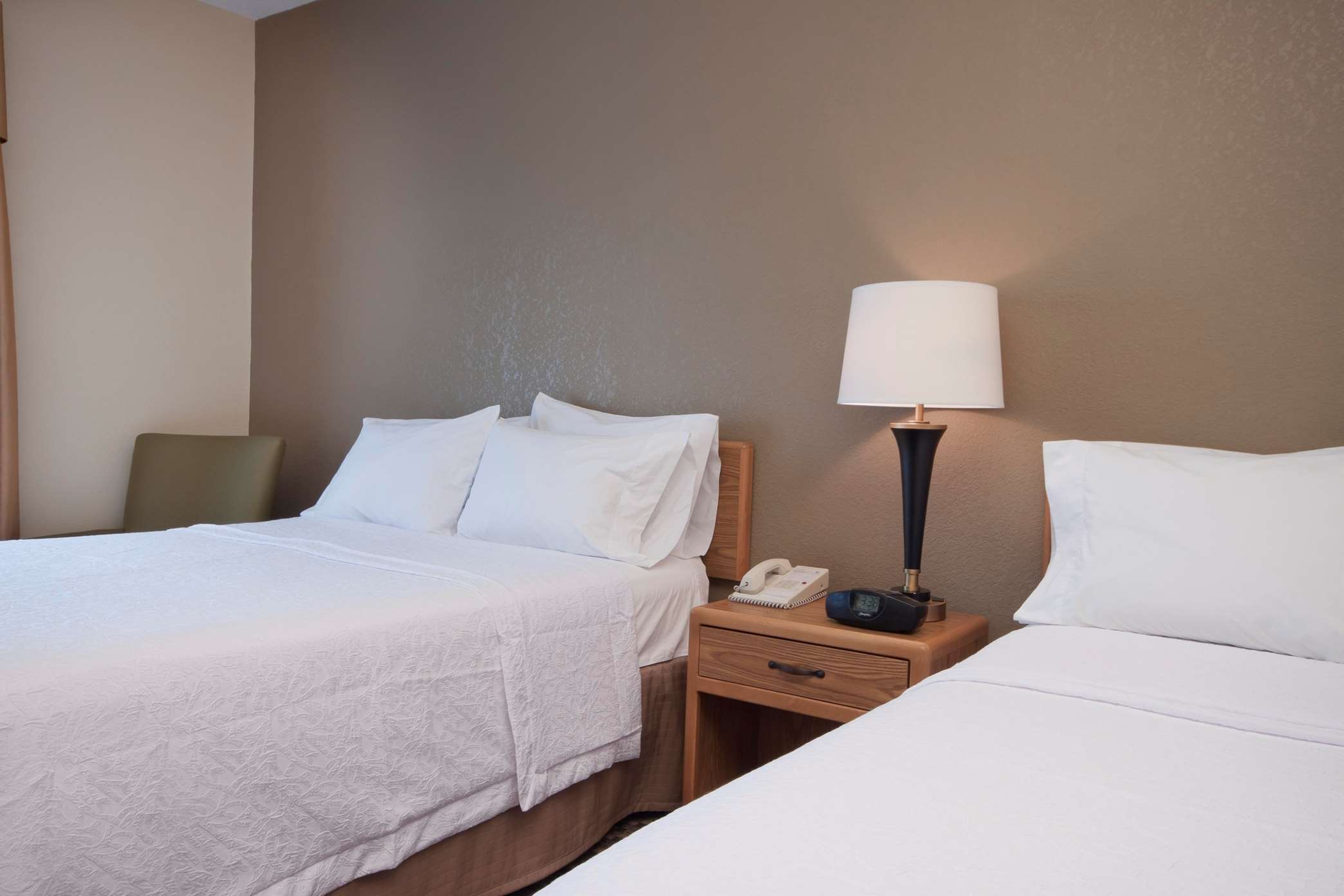 Two Queen Hotel Room