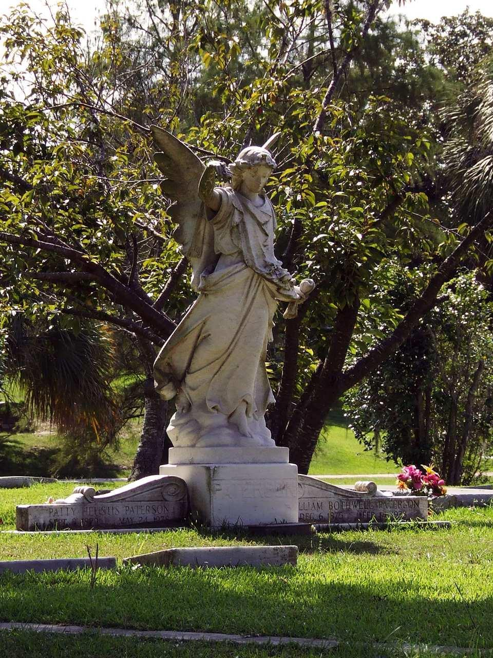 Statue at Pine Crest