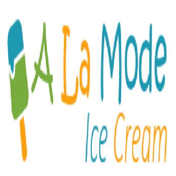 A La Mode Ice Cream