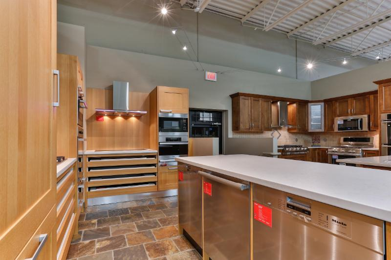 Trail Appliances in Surrey: The Miele kitchen.