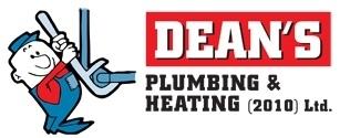 Dean's Plumbing & Heating (2010) Ltd in Cranbrook