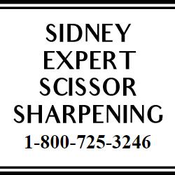 Sidney Expert Scissor Sharpening