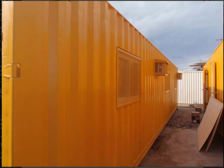 Insta-Space Storage Ltd in Delta: Portable Offices