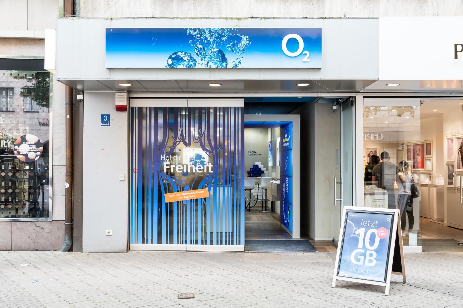 o2 Shop, Karolinenstr. 3 in Nürnberg