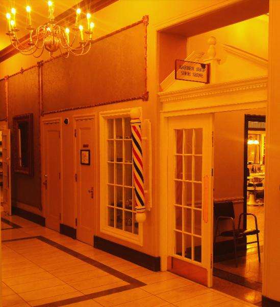 Sask Hotel Barbershop