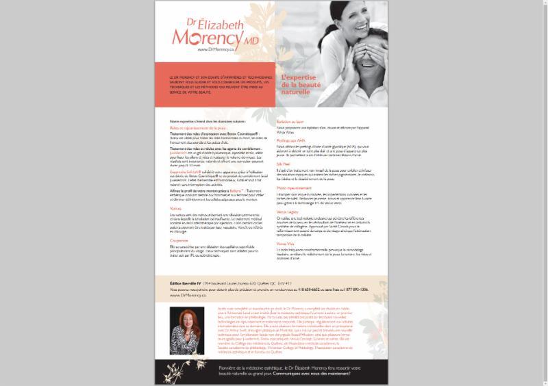 Dr Elizabeth Morency MD à Québec