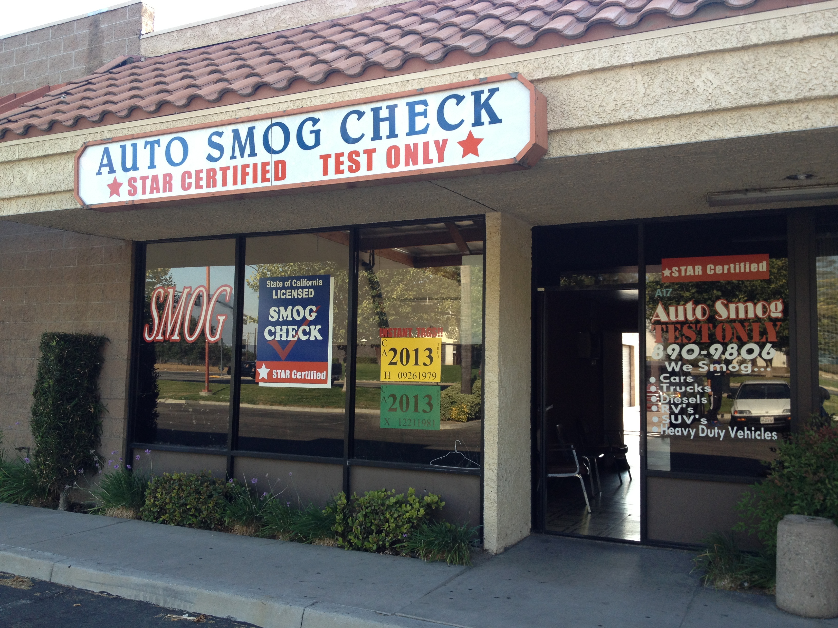 Auto smog check test only 738 s waterman ave a 17 san bernardino auto smog check test only 738 s waterman ave a 17 san bernardino ca automobile smog control inspections mapquest xflitez Gallery