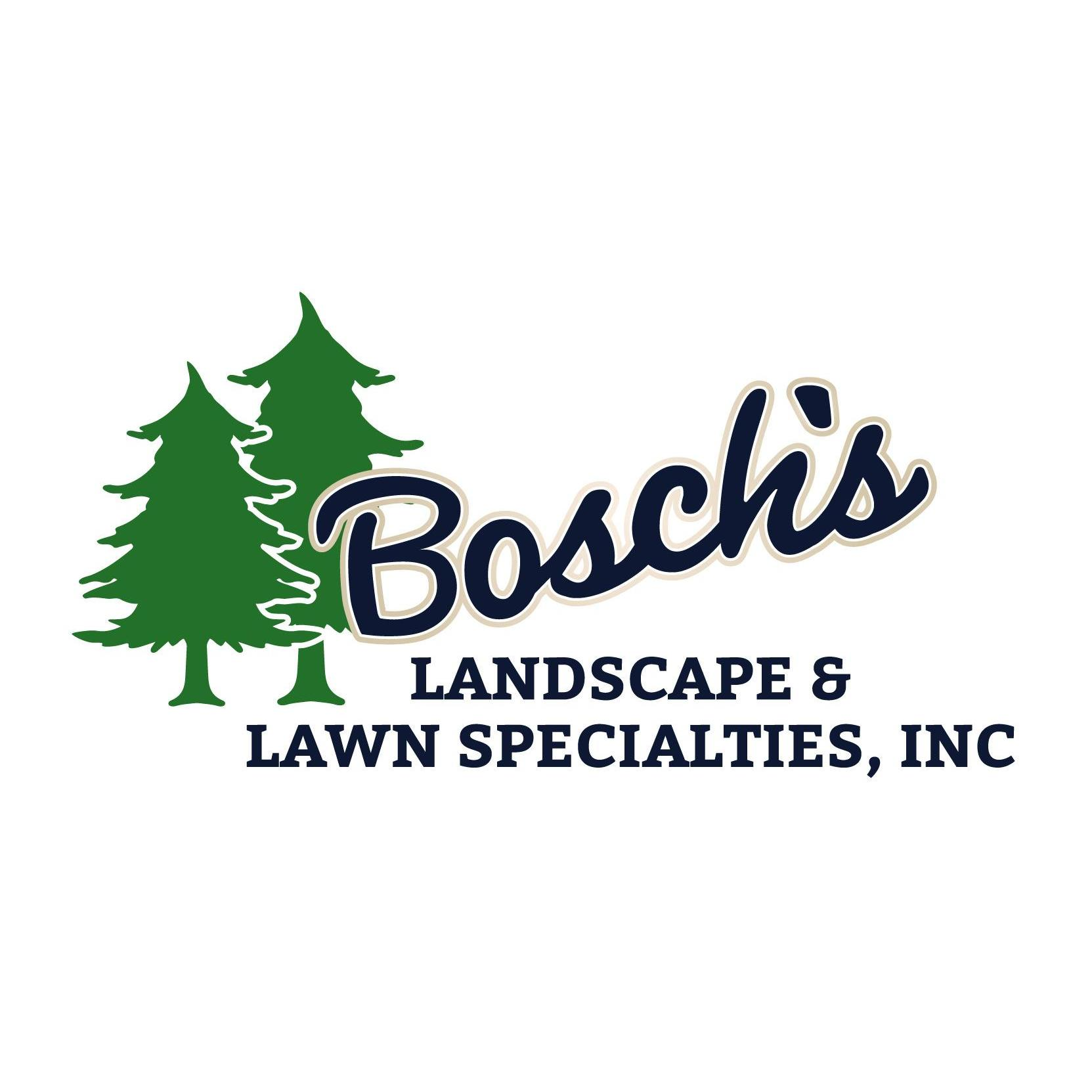 Bosch S Landscaping Amp Lawn Specialties Inc In Holland Mi