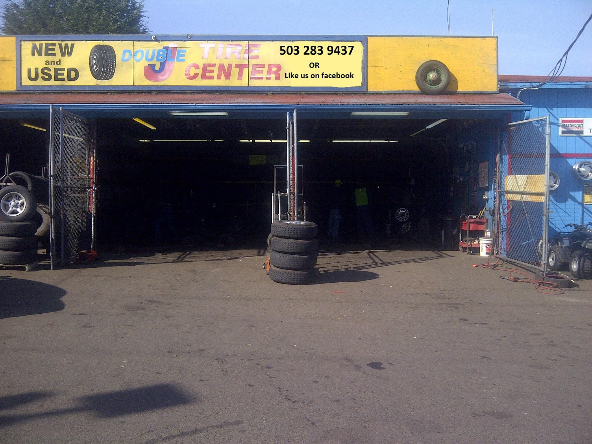 Used Tires Portland >> Double J Tire Center Inc 6841 Ne Martin Luther King Blvd