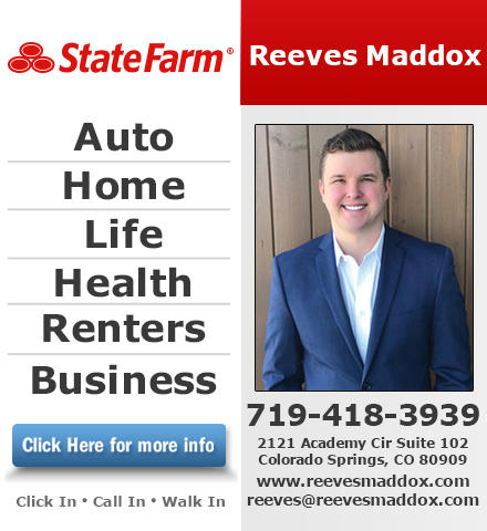 Reeves Maddox - State Farm Insurance Agent