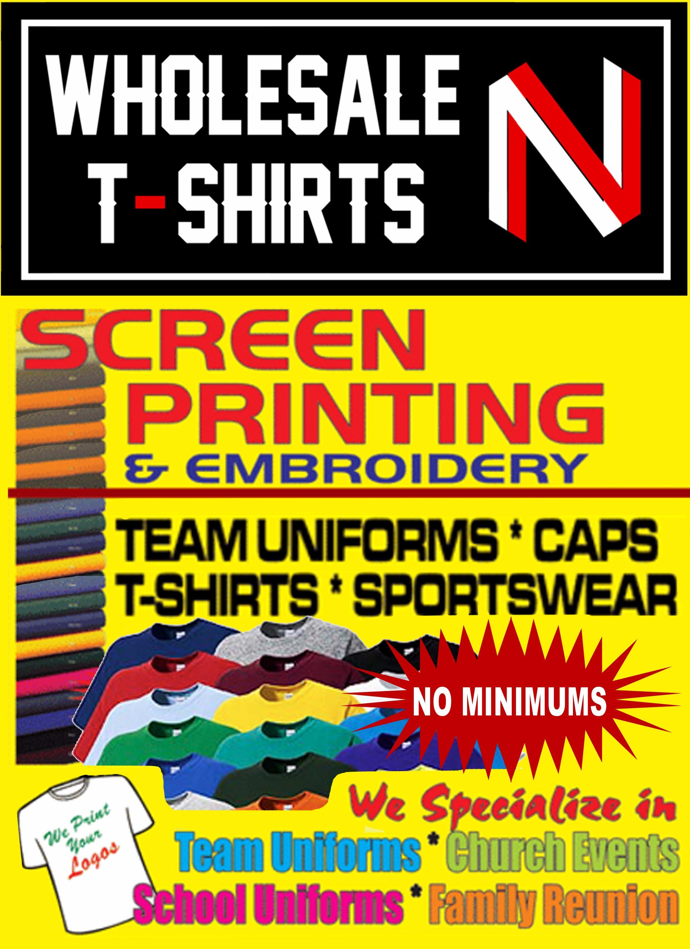 wholesale t shirts N image 5