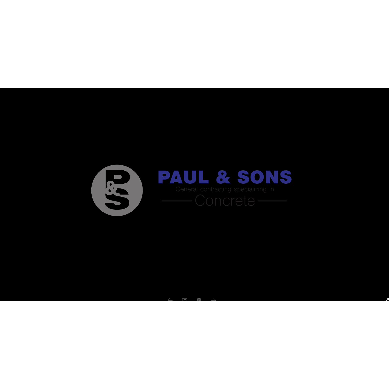 Paul & Sons General Contracting, LLC