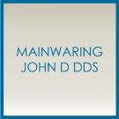 Mainwaring John D DDS