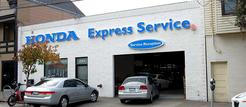 San Francisco Honda 9th Ave. Service Center