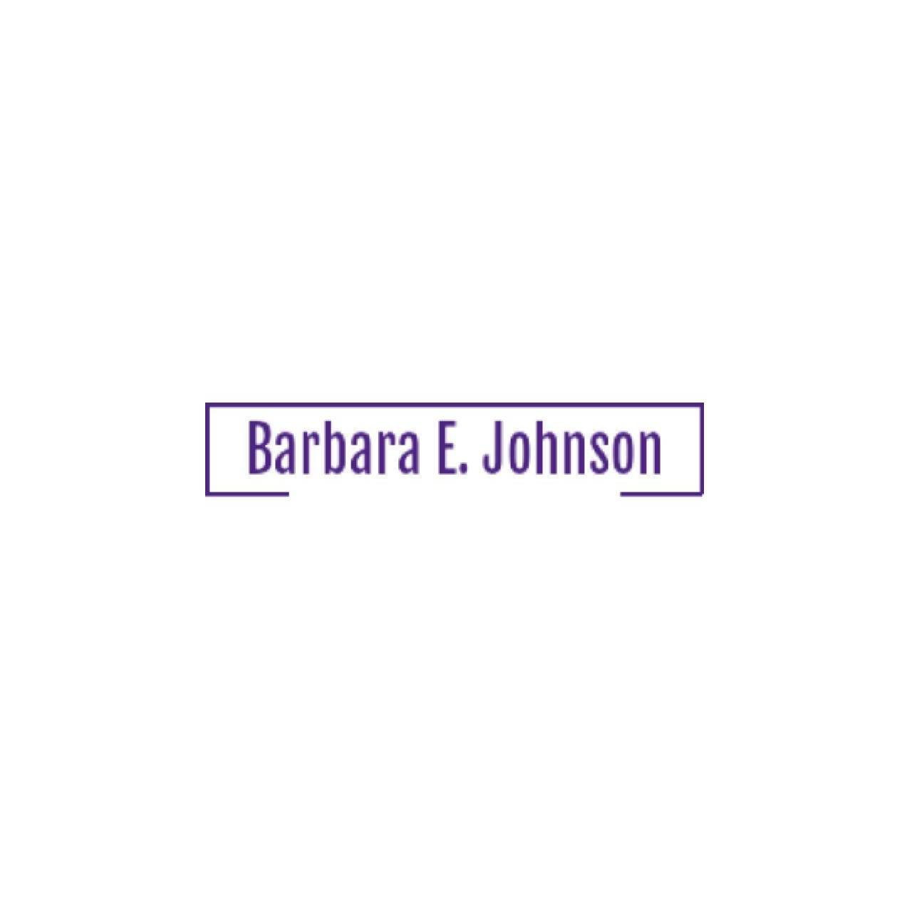 Barbara E. Johnson