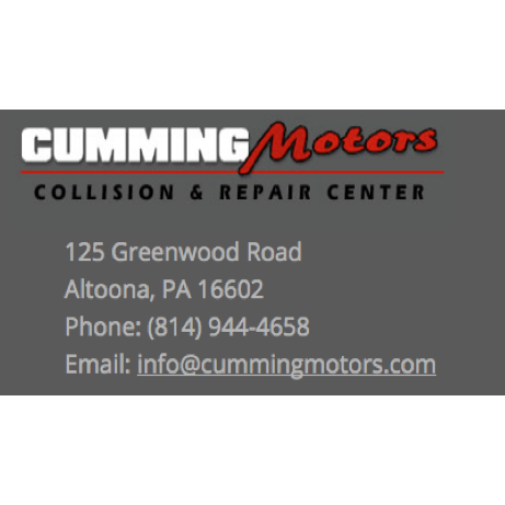 cumming motors inc in altoona pa 16602 citysearch