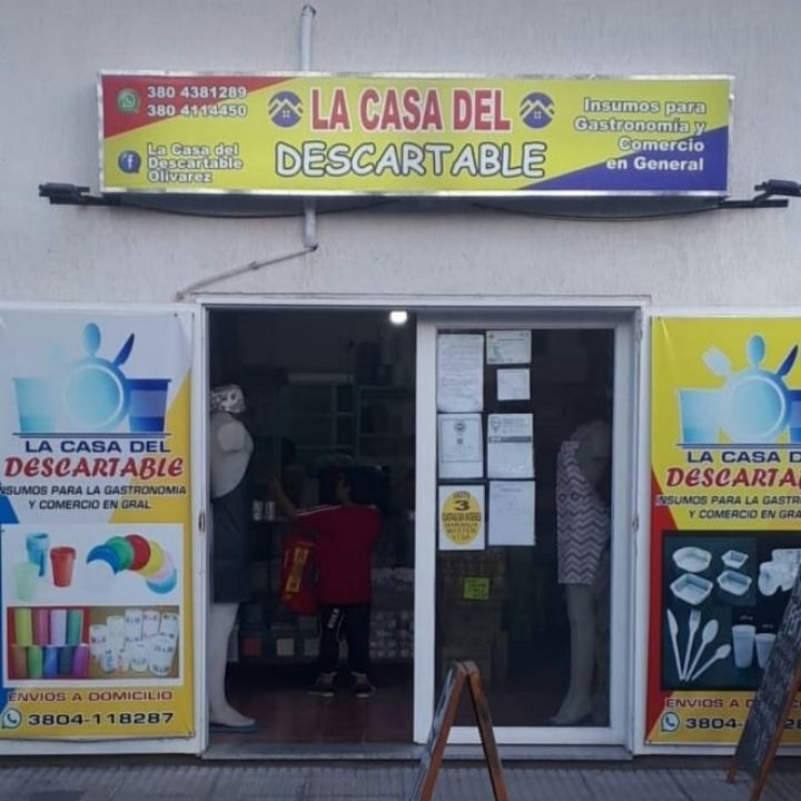 La Casa del Descartable Olivares