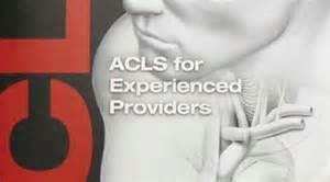 Advanced Cardiac Life Support for Experienced Providers Course from The American Heart Association. This course is for the experienced provider to work as a team and broaden their knowledge base and c
