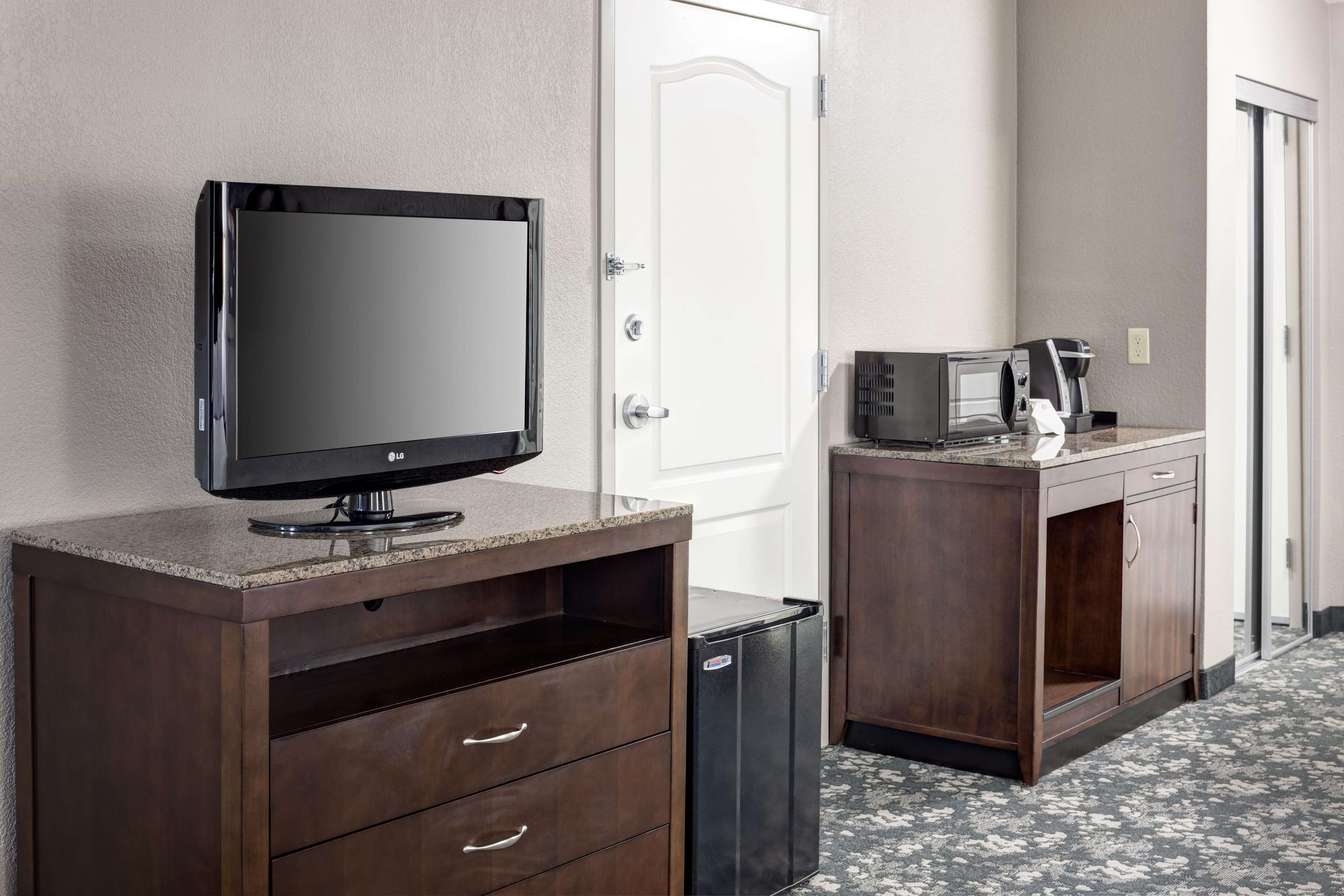 Two Queen Room Entertainment Center