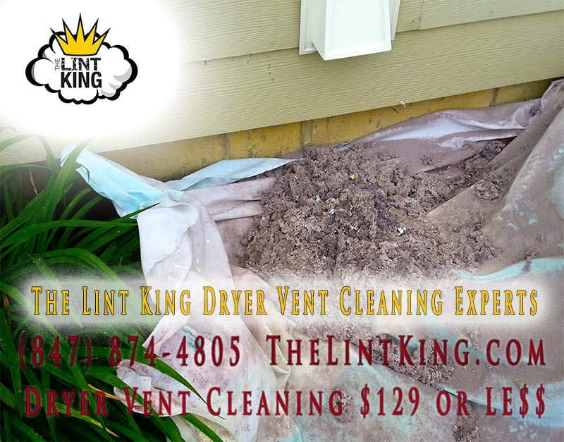 We just completed a dryer vent cleaning in South Barrington. Professional Dryer Vent Cleaning.