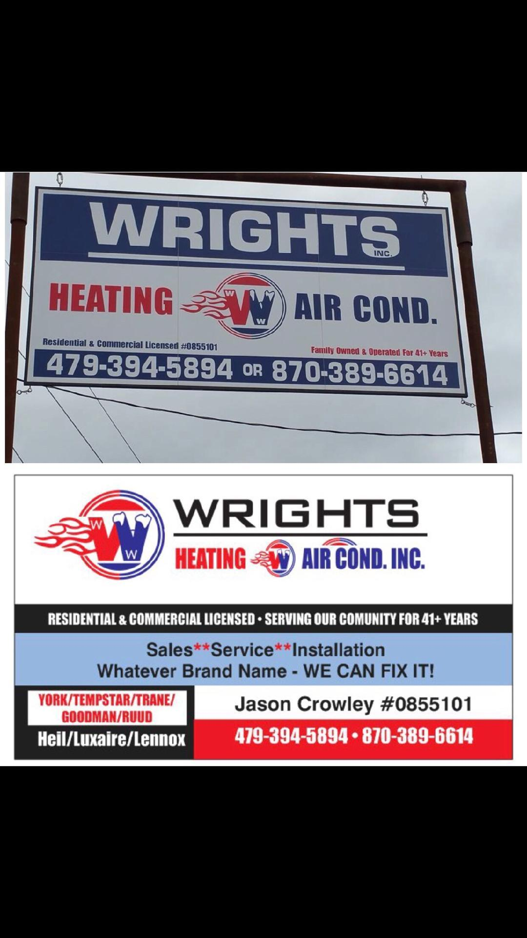 Wrights Heating And Air Conditioning Mena, AR Plumbing