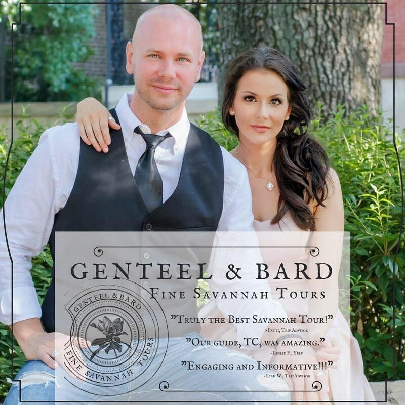 Genteel & Bard | Fine Savannah History & Ghost Tours
